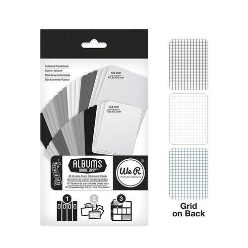 We R Memory Keepers - Albums Made Easy - Cardstock Cards - Blackboard