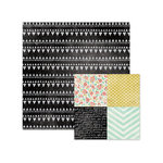 We R Memory Keepers - Chalkboard Collection - 12 x 12 Double Sided Paper - Motif