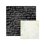 We R Memory Keepers - Chalkboard Collection - 12 x 12 Double Sided Paper - Sketchbook