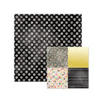 We R Memory Keepers - Chalkboard Collection - 12 x 12 Double Sided Paper - Polka Dot