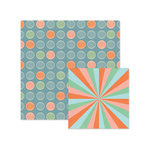 We R Memory Keepers - Jet Set Collection - 12 x 12 Double Sided Paper - Globetrotter