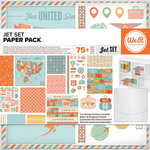 We R Memory Keepers - Jet Set Collection - 12 x 12 Paper Pack
