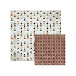 We R Memory Keepers - Indian Summer Collection - 12 x 12 Double Sided Paper - Carefree