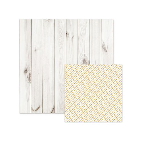 We R Memory Keepers - Indian Summer Collection - 12 x 12 Double Sided Paper - Whitewash