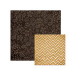 We R Memory Keepers - Indian Summer Collection - 12 x 12 Double Sided Paper - Impressions