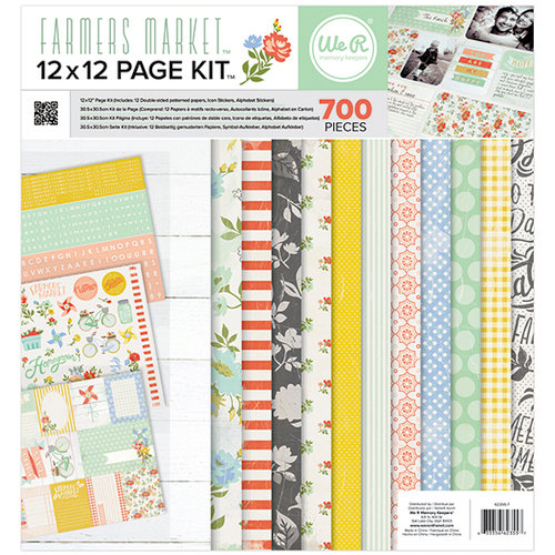 We R Memory Keepers - Farmers Market Collection - 12 x 12 Page Kit