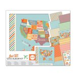 We R Memory Keepers - Jet Set Collection - 12 x 12 Album Kit