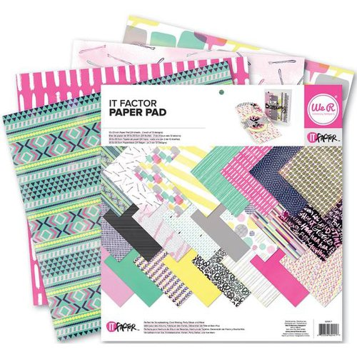 We R Memory Keepers - It Factor Collection - 12 x 12 Paper Pad