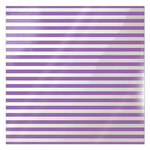 We R Memory Keepers - Clearly Bold Collection - 12 x 12 Acetate Paper - Neon Purple Stripe