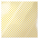 We R Memory Keepers - Clearly Bold Collection - 12 x 12 Acetate Paper - Neon Yellow Dot