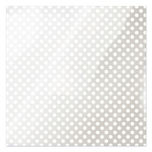 We R Memory Keepers - Clearly Bold Collection - 12 x 12 Acetate Paper - White Dot