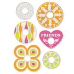 We R Memory Keepers - Designer Gromlets - Friends