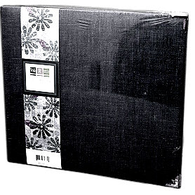 We R Memory Keepers - Linen - 12x12 - Three Ring Albums - Onyx
