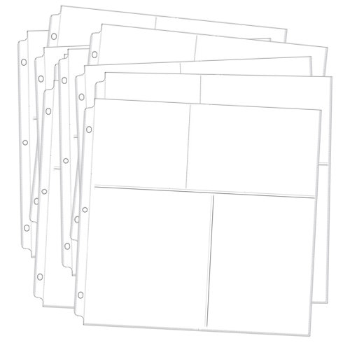 Memory Dock - Creative Page Planner - Page Planner Sheets - Refill Pack
