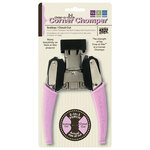We R Memory Keepers - Crop-A-Dile - 2 in 1 Corner Punch Chomper Tool - Scallop and Cloud Cut