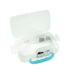 We R Memory Keepers - Crop-A-Dile Case - Blue - Storage Case and 100 Eyelets