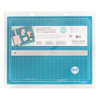 We R Memory Keepers - Crafters 14 x 18 Inch Magnetic Mat and 18 Inch Magnetic Ruler