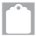 We R Memory Keepers - Crop-A-Dile III Main Squeeze - Die Cutting Plates - Tag