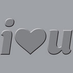 We R Memory Keepers - Crop-A-Dile III Main Squeeze - Embossing Plates - I Heart You