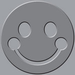 We R Memory Keepers - Crop-A-Dile III Main Squeeze - Embossing Plates - Smile Face