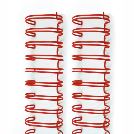 We R Memory Keepers - The Cinch - Binding Wires - 1.25 Inches - Red Hot