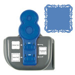 We R Memory Keepers - Lucky 8 Punch - Border and Corner Punch - Fancy Scroll
