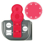 We R Memory Keepers - Lucky 8 Punch - Border and Corner Punch - Party Streamer