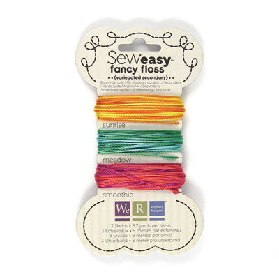 We R Memory Keepers - Sew Easy - Fancy Floss - Variegated - Secondary
