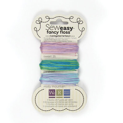 We R Memory Keepers - Sew Easy - Fancy Floss - Variegated - Tertiary