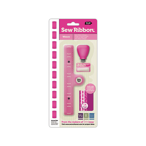 We R Memory Keepers - Sew Ribbon - Tool and Stencil - Weave