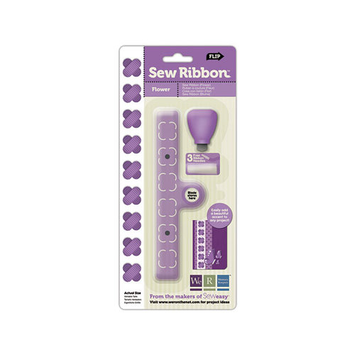 We R Memory Keepers - Sew Ribbon - Tool and Stencil - Flower