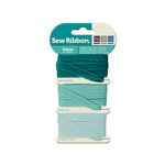 We R Memory Keepers - Sew Ribbon - Ribbon Set - Aqua
