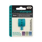 We R Memory Keepers - Sew Stamper - Stamper Attachment Head - Burst Stitch