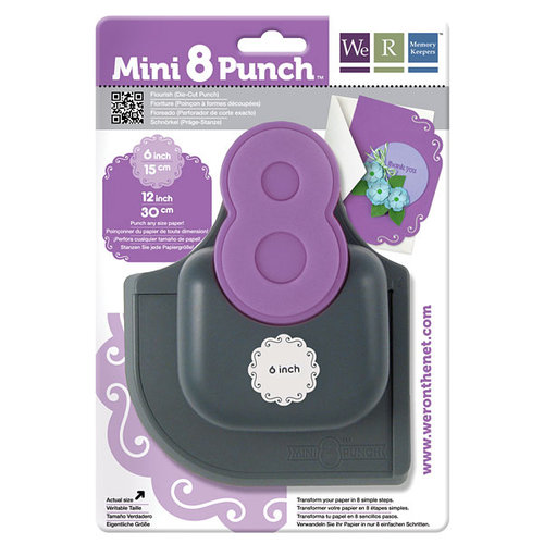 We R Memory Keepers - Mini 8 Punch - Border and Corner Punch - Flourish