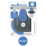 We R Memory Keepers - Mini 8 Punch - Border and Corner Punch - Raindrop