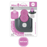 We R Memory Keepers - Mini 8 Punch - Border and Corner Punch - Rose