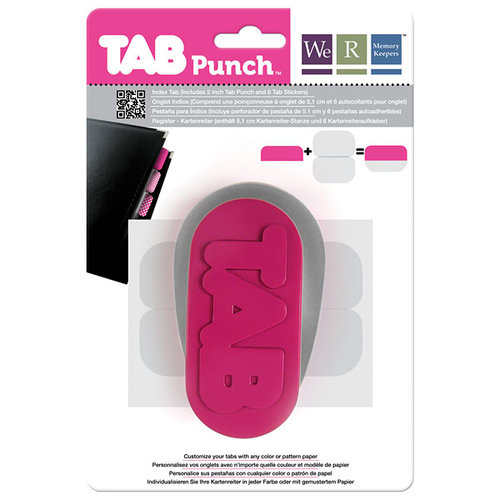 We R Memory Keepers - Tab Punch - Index
