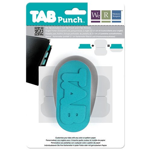 WeRMemory Keepers Tab Punch