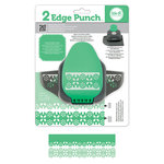 We R Memory Keepers - 2 Edge Punch Border and Corner Punch - Garland