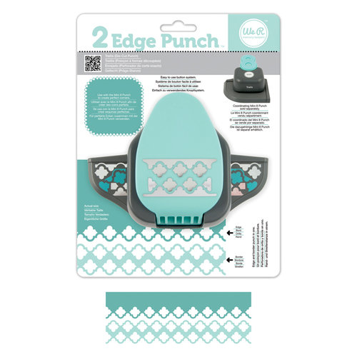 We R Memory Keepers - 2 Edge Punch Border and Corner Punch - Trellis