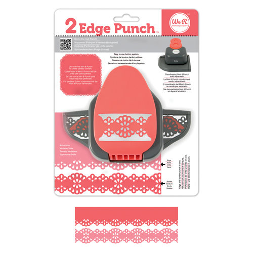 We R Memory Keepers - 2 Edge Punch Border and Corner Punch - Doily
