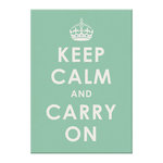 We R Memory Keepers - Art Board - Keep Calm Carry On