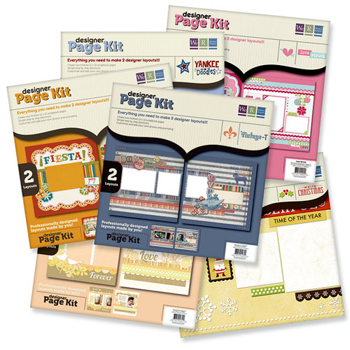 We R Memory Keepers - 12 x 12 Layout Page Kits