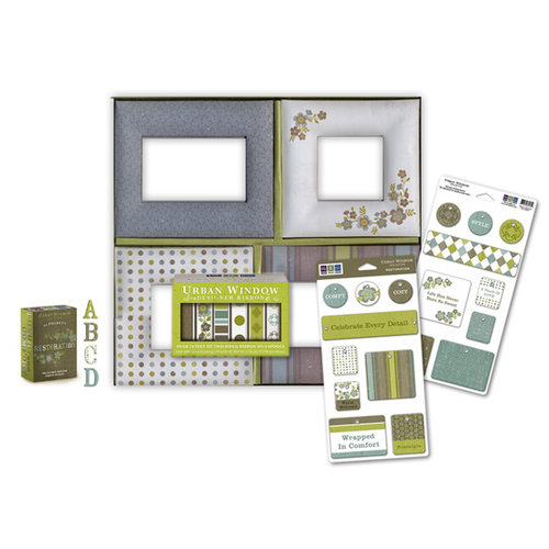 We R Memory Keepers - Urban Window Collection - Restoration Photo Frame Kit, CLEARANCE