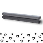 Xyron - Creatopia Patternz - 12 Inch Embossing Roller - Hearts