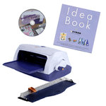 Xyron - Model 900 - Adhesive, Laminate, Magnet and Label System with DVD, Idea Book and Removable Cutter