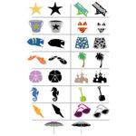 Wishblade - Shape Set - Beach S4, CLEARANCE