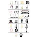 Wishblade - Shape Set - Wedding S25, CLEARANCE