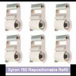 "Xyron ""X"" Refill Repositionable Cartridge - The 6 Pack Bargain Pack"