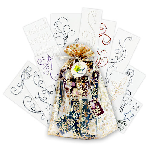 Zva Creative - Sparkle Glitter and Dazzle Bag O' Bling Kit